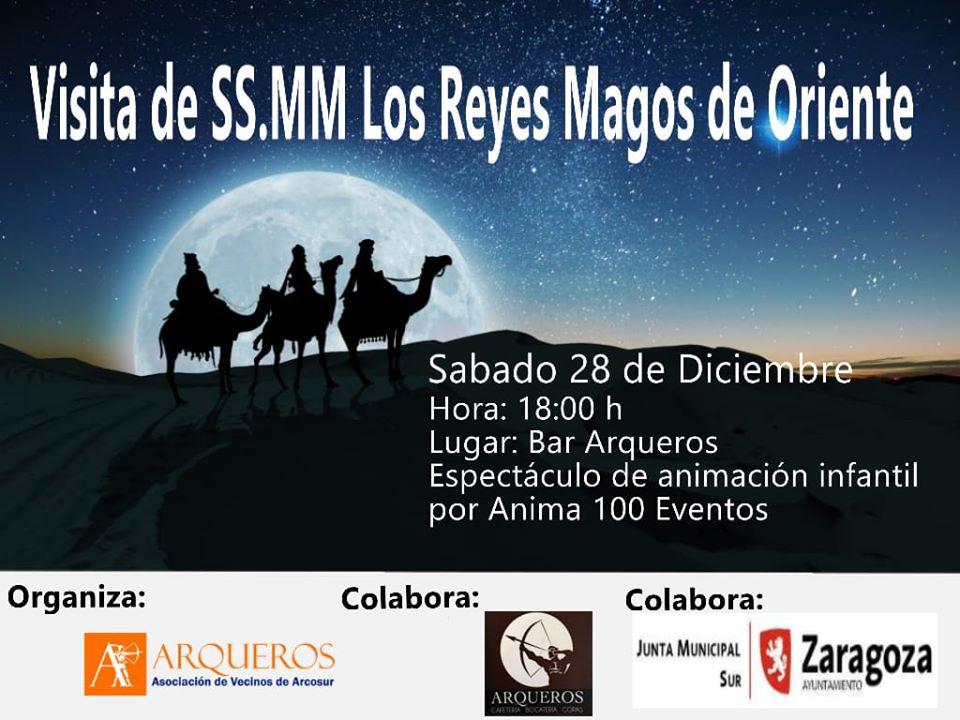 20191228 Visita Reyes Magos cartel
