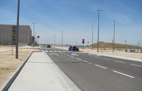 Avenida del Patio de los Naranjos, en Arcosur