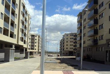 Los primeros vecinos de Arcosur llegarán a sus casas en octubre