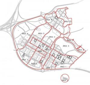 Fases de urbanización.