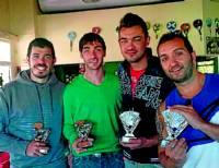 Ganaron José C. Cano, Iván Julián, David Cano y David Gutierrez